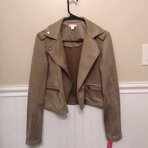 Target Suede Tan Jacket